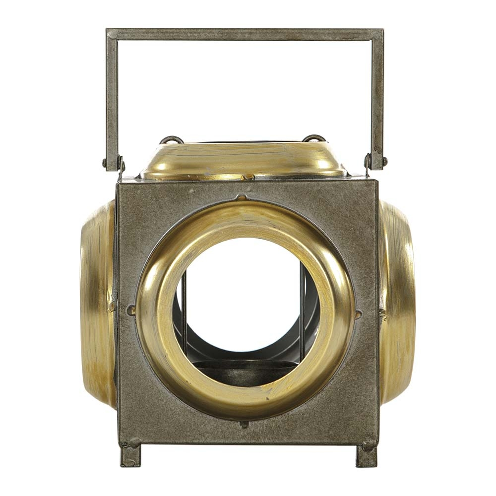 AK.EZ0054 Vitale Pim Bronz Metal Saplı Mumluk