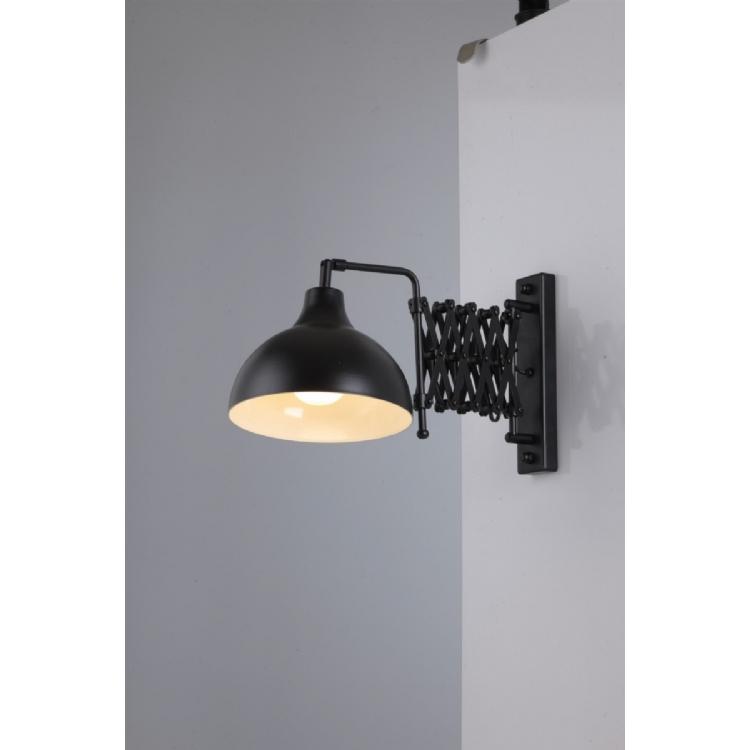 AVONNI HAP-9082-BSY Siyah Boyalı Aplik, E27, Metal, 22x45cm