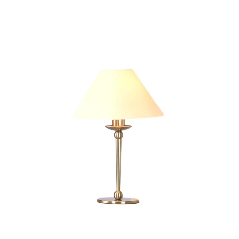 AVONNI HML-9001-1NK Nikel Kaplama Masa Lambası, E27, Metal, 30cm