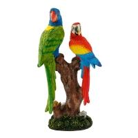 AK.BZ0157 Vitale Pretty Dalda Papağanlar Biblo