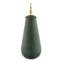 AK.DV0043 Vitale Agra Metal Dekoratif Vazo Büyük Boy