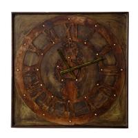 Vitale Dragon Metal Çarklı Duvar Saati AK.EI0034