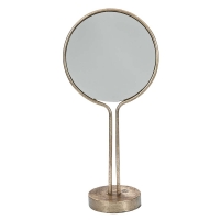 AK.EZ0055 Vitale Pim Bronz Metal Dekoratif Ayna