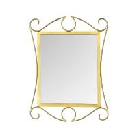 Vitale Sultaniye Ferforje Gold Ayna AK.FE0001