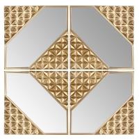 AK.GN0010 Vitale Saga Gold Dekoratif Ayna