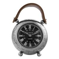 Vitale Dragon Deri Askılı Metal Masa Saati AK.GZ0016